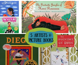 5 Artist Picture Books
